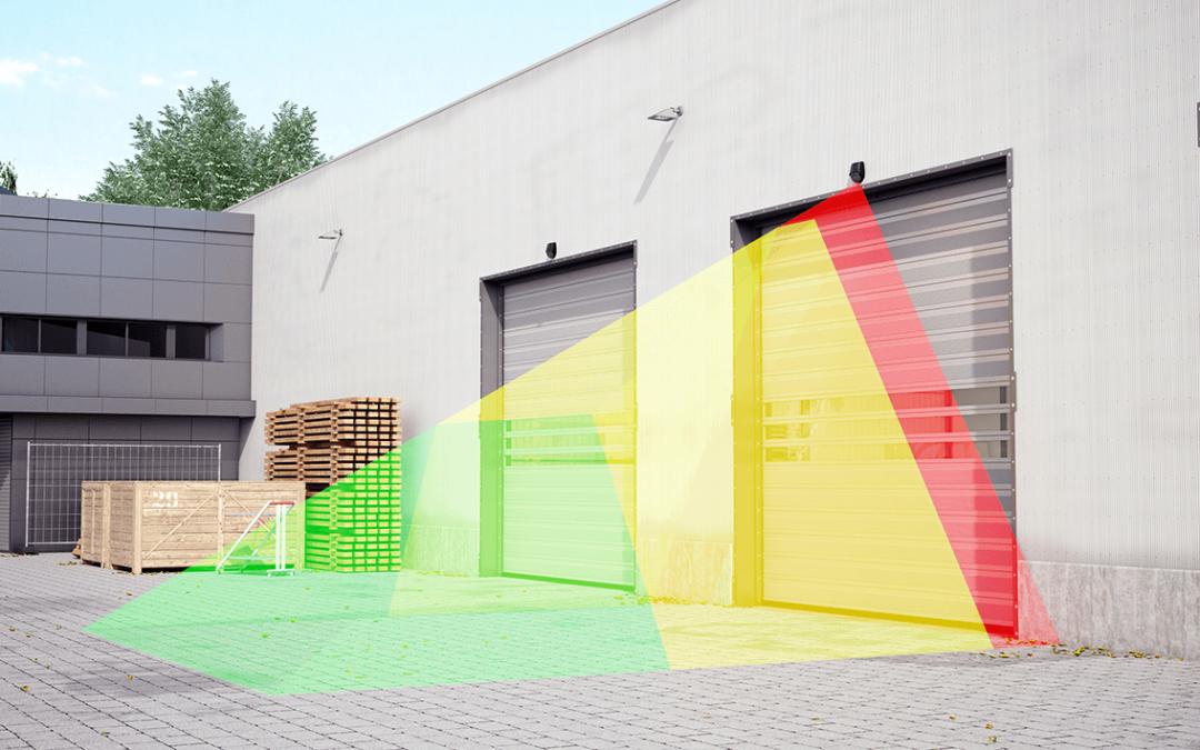 Widescan 3D Absicherung und Öffnung von Schnelllauftoren